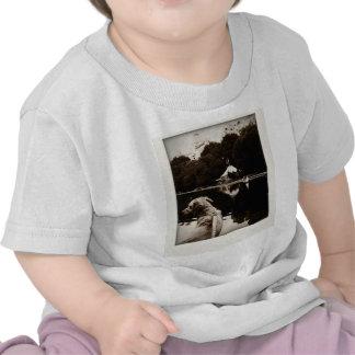 Golden Sails Old Photo Polaroid Infant Shirt