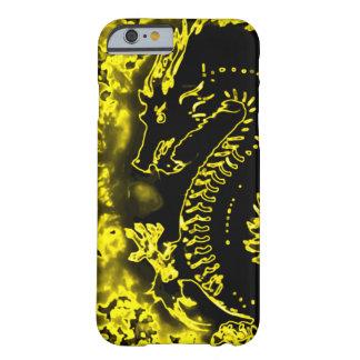 Golden Samurai Spirit Dragon Barely There iPhone 6 Case