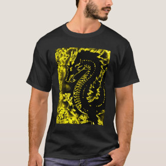 Golden Samurai Spirit Dragon Tee