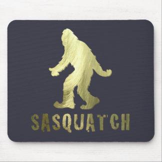 Golden Sasquatch Mouse Pad