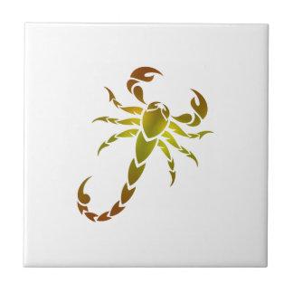 Golden Scorpion Tile