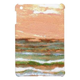 Golden Sea CricketDiane Ocean Waves Art Case For The iPad Mini