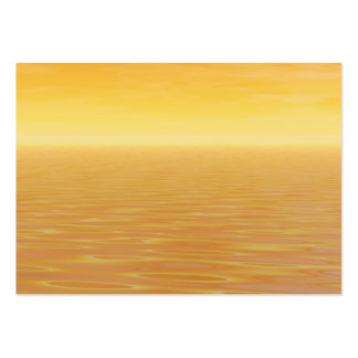 Golden Sea Large Business Cards (Pack Of 100)