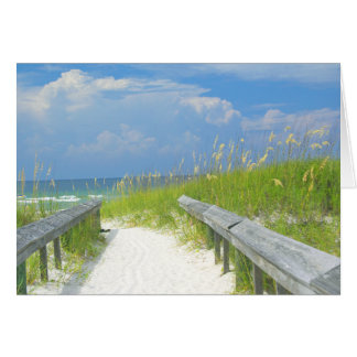 Golden Sea Oats Stationery Note Card