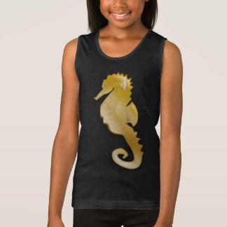 Golden Seahorse Tank Top