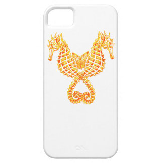 Golden Seahorses iPhone 5 Cover