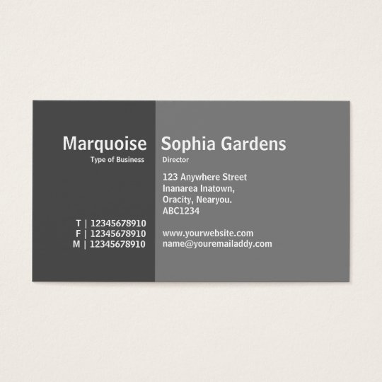 Golden Section 07 Business Card