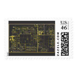 Golden Section Stamp