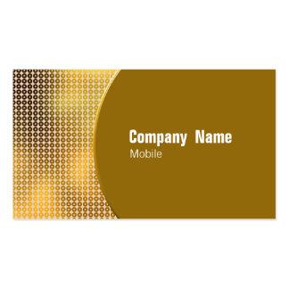 Golden Sequin Business Cards