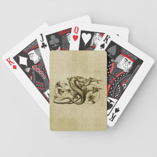 Golden Serpent Playing Cards