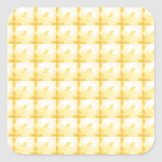 Golden Shade Background Template ADD Text Greeting Square Sticker