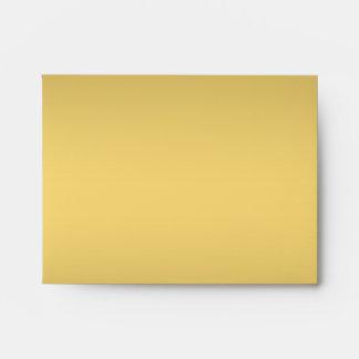 Golden shade elegant A2 Note Card envelopes