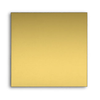 Golden shade elegant Square envelopes