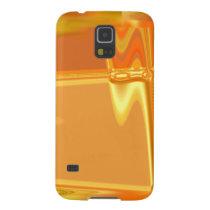 Golden Sheath - An Abstract Galaxy S5 Cover