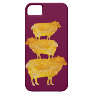 Golden Sheep Stack iPhone SE/5/5s Case