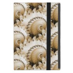 Golden Shells On A Beach Ipad Mini Case at Zazzle