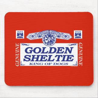 Golden Sheltie Mouse Pad