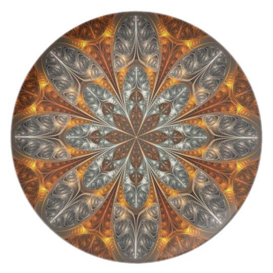 Golden shield Plate