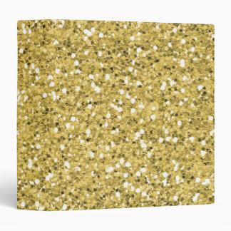 Golden Shimmer Glitter Binder