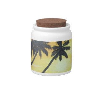 Golden Shores Candy Jar