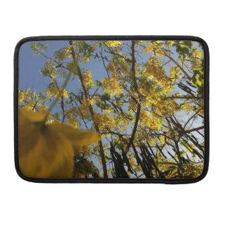 Golden Shower Tree Sleeves For MacBooks