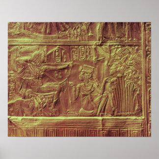 Golden shrine, Tutankhamun's Treasure Poster