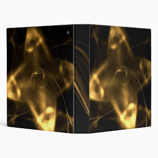 Golden Shuriken 3 Ring Binder
