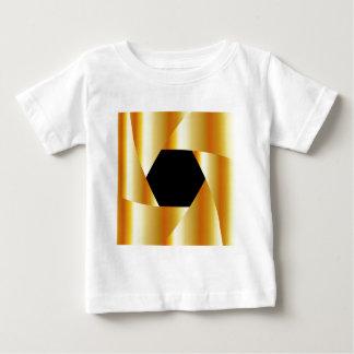 Golden shutter background baby T-Shirt