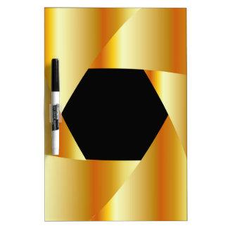 Golden shutter background Dry-Erase boards