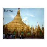 golden shwedagon post cards