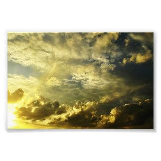 golden sight photo print