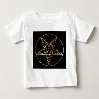 Golden sigil of Baphomet Baby T-Shirt