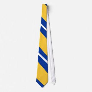 Golden Sisco Fighters II Diagonal-Striped Tie