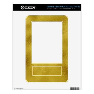Golden Decals For The NOOK