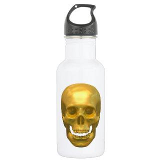 Golden Skull Water Bottle