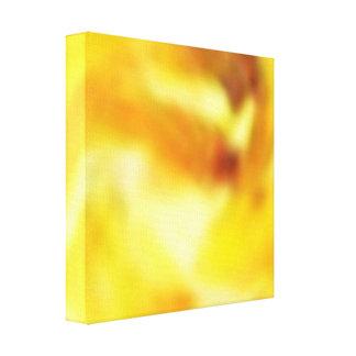 Golden Sky - Energy Waves Canvas Print