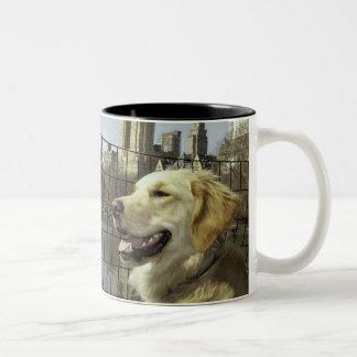 Golden Skyline by The Lake Coffee Mug