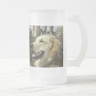 Golden Skyline by The Lake Frosted Mug