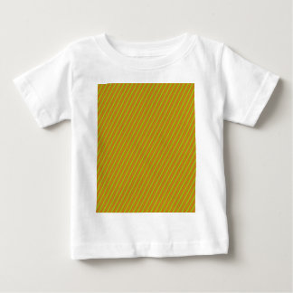 Golden Slanted Stripes Baby T-Shirt