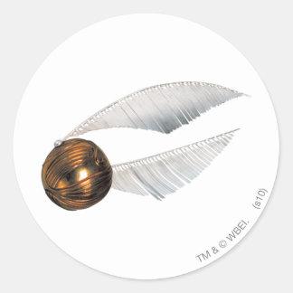 Golden Snitch Classic Round Sticker