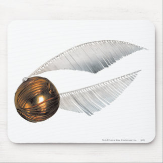 Golden Snitch Mouse Pad