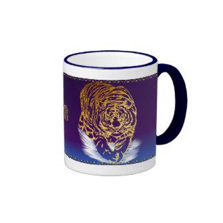 Golden Snow Tiger Mug