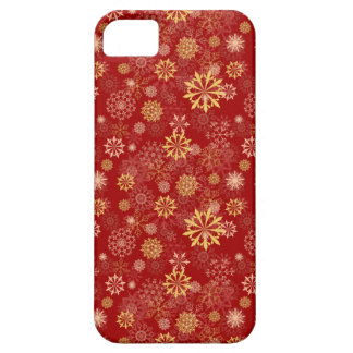 Golden Snowflake iPhone SE/5/5s Case