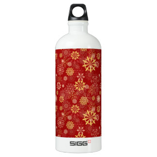 Golden Snowflake SIGG Traveler 1.0L Water Bottle