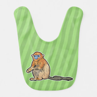 Golden Snub-Nosed Monkey Bib
