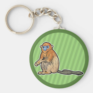 Golden Snub-Nosed Monkey Keychain