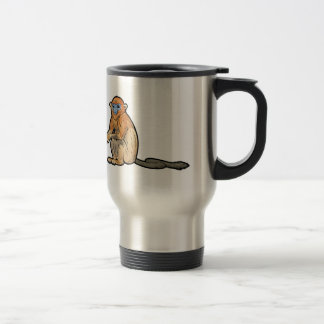 Golden Snub-Nosed Monkey Travel Mug