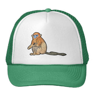 Golden Snub-Nosed Monkey Trucker Hat