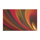 Golden Soft Sand Waves Gallery Wrap Canvas