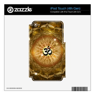Golden Sound of Om Skins For iPod Touch 4G
